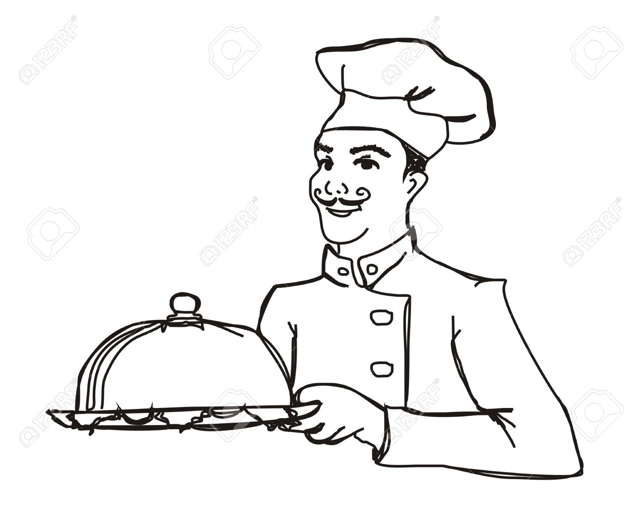 Hotel Cook Clipart 10