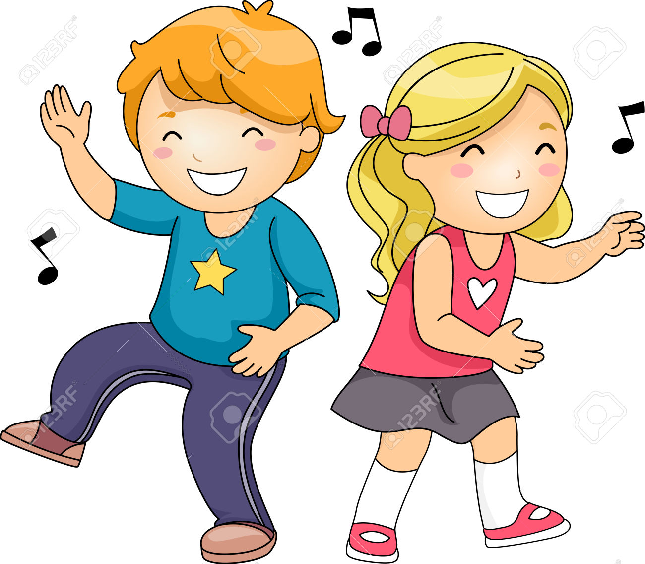 African American Singing Group Clip Art