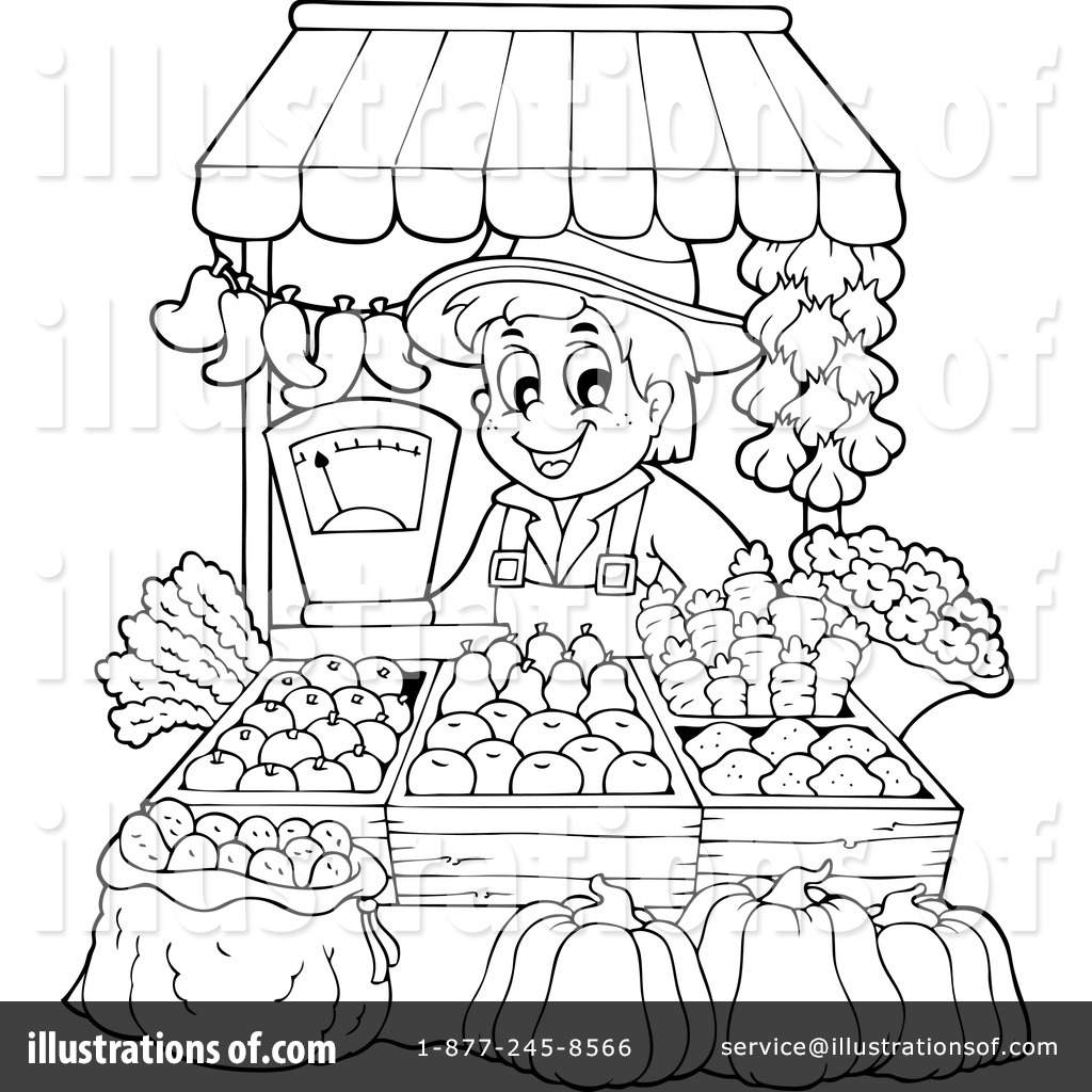 Market Clipart Black And White 6 Clipart Station