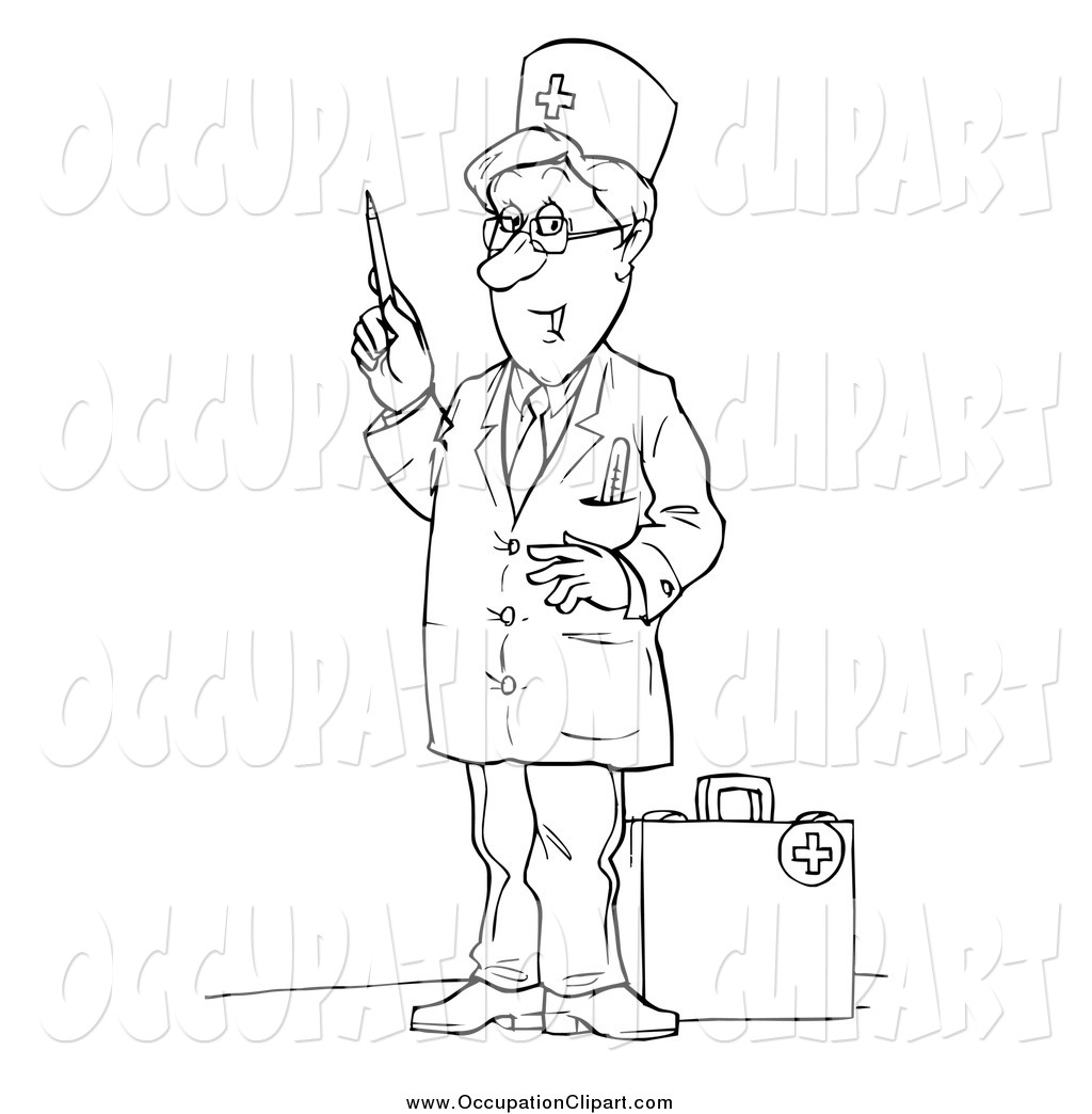 Occupation Clipart Black And White 10 Clipart Station
