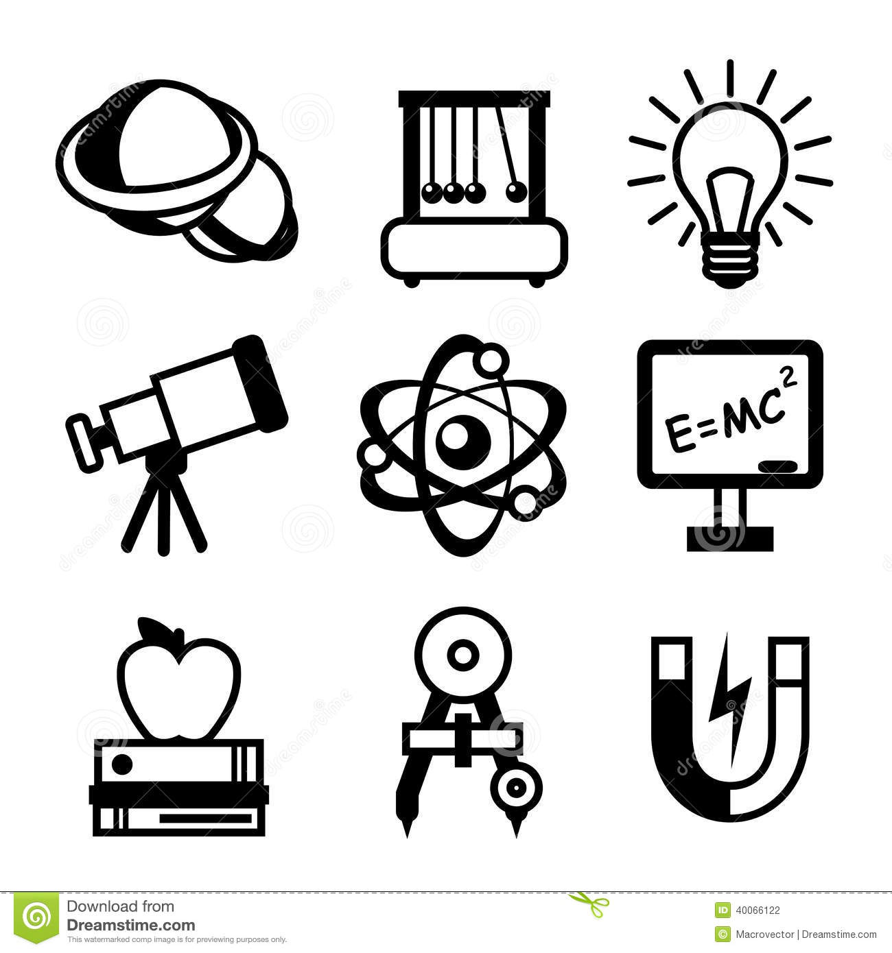 Physics Clipart Black And White 5 Clipart Station