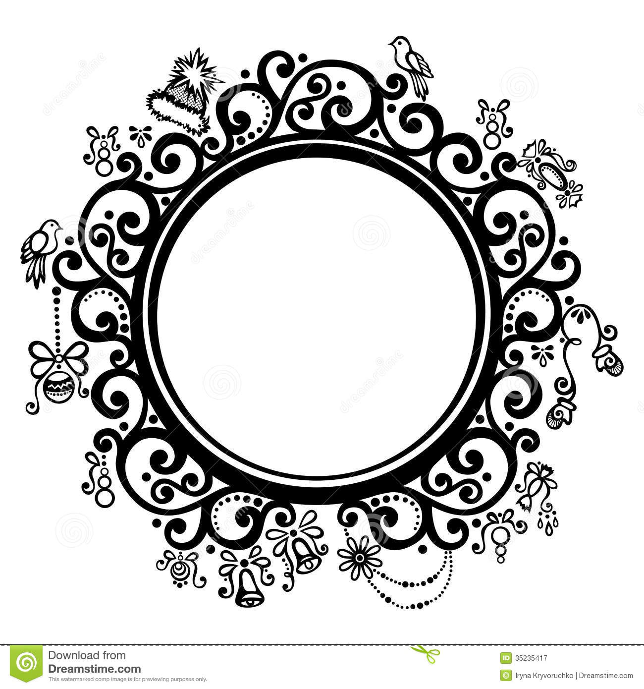 Round Design Clipart 1 Clipart Station