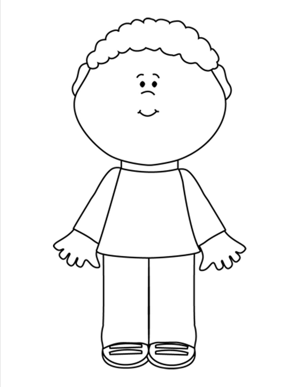School Boy Clipart Black And White 5 Clipart Station