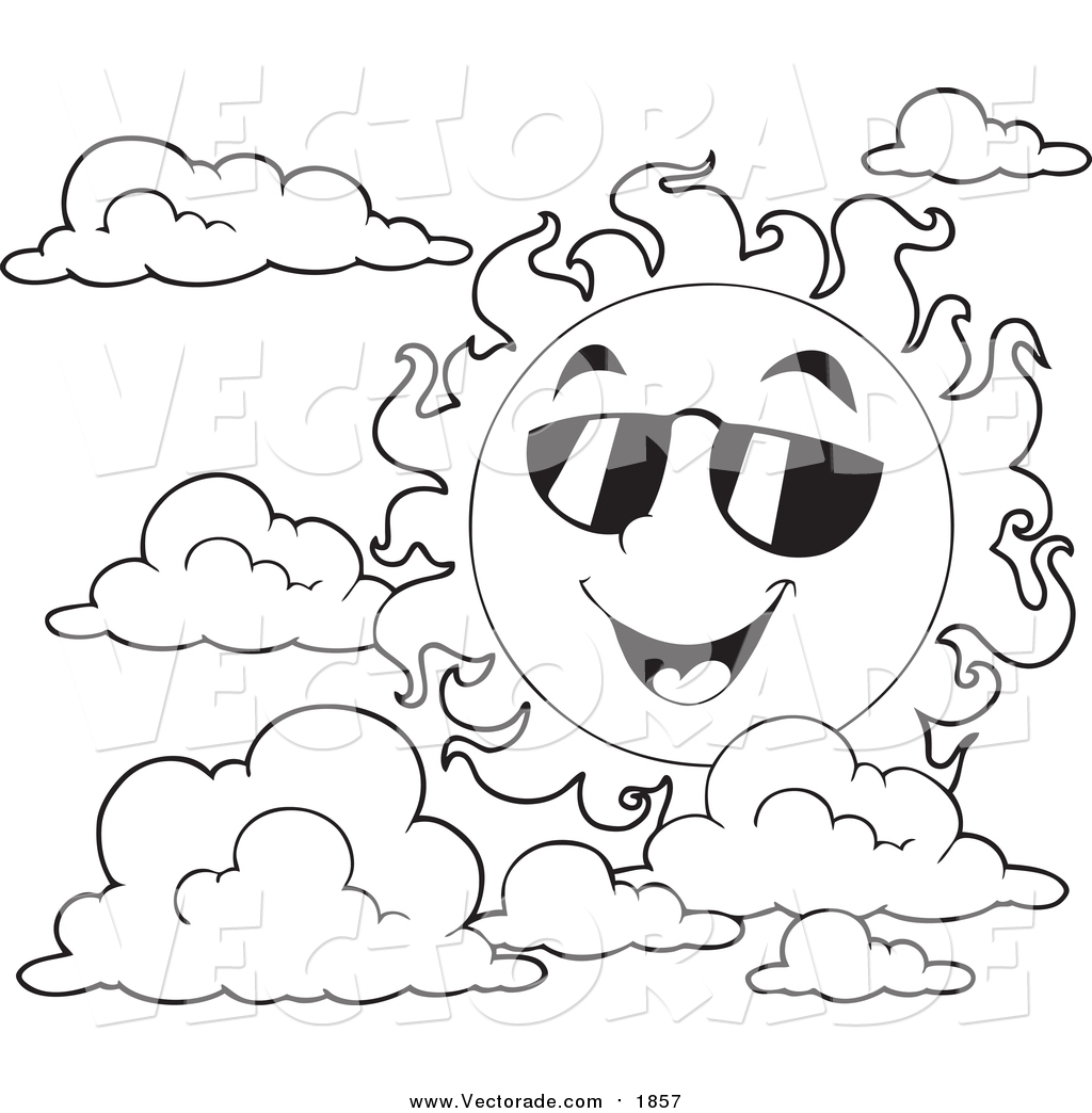 Summer Season Clipart Black And White 7 Clipart Station