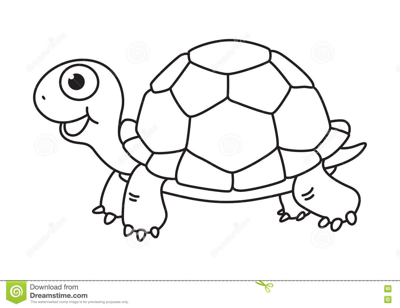 Tortoise Clipart Black And White 3 Clipart Station