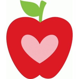 Download Apple heart clipart 3 » Clipart Station