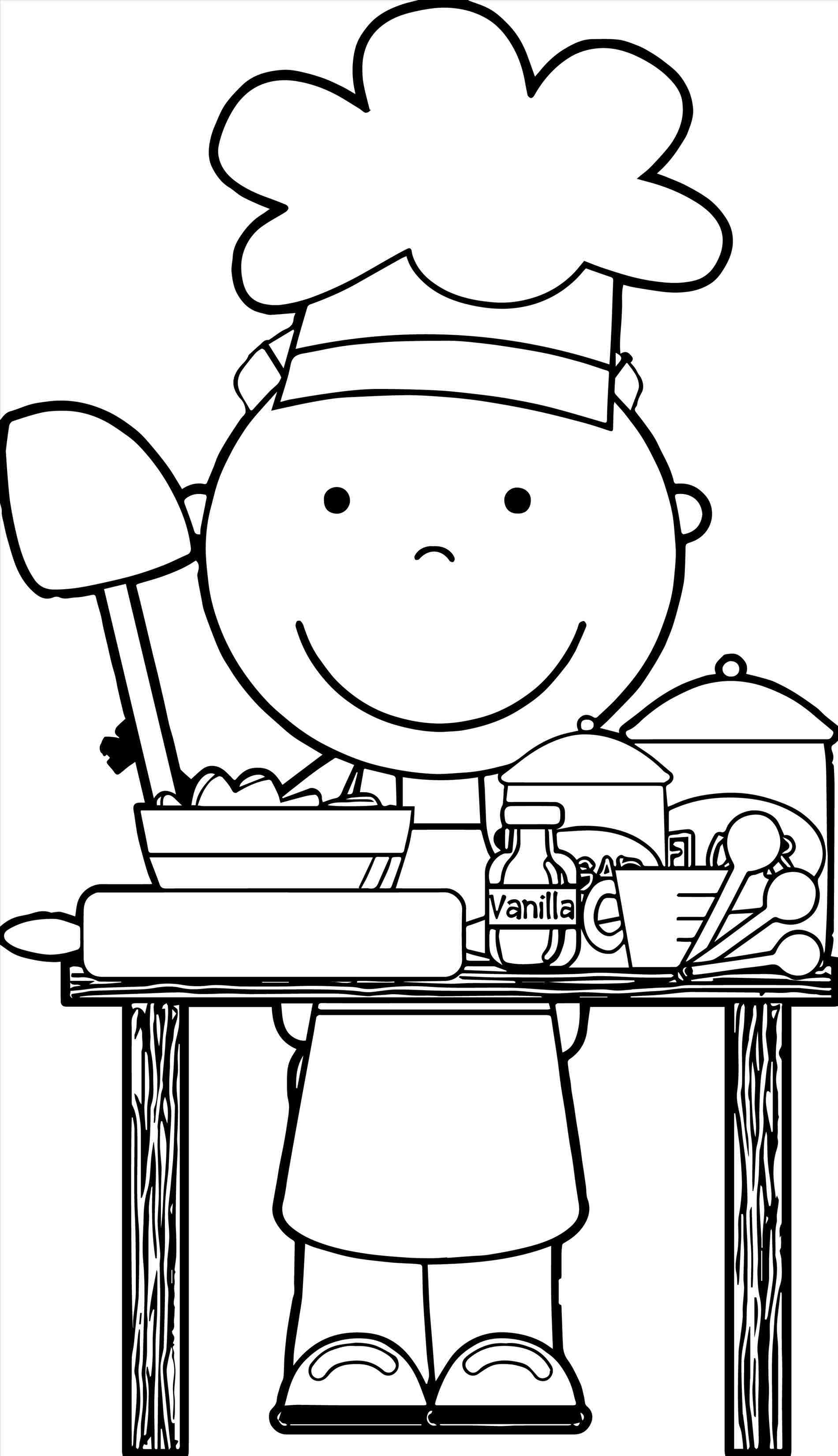 Wonderful Baking Clipart Black And White Of Clipart Station