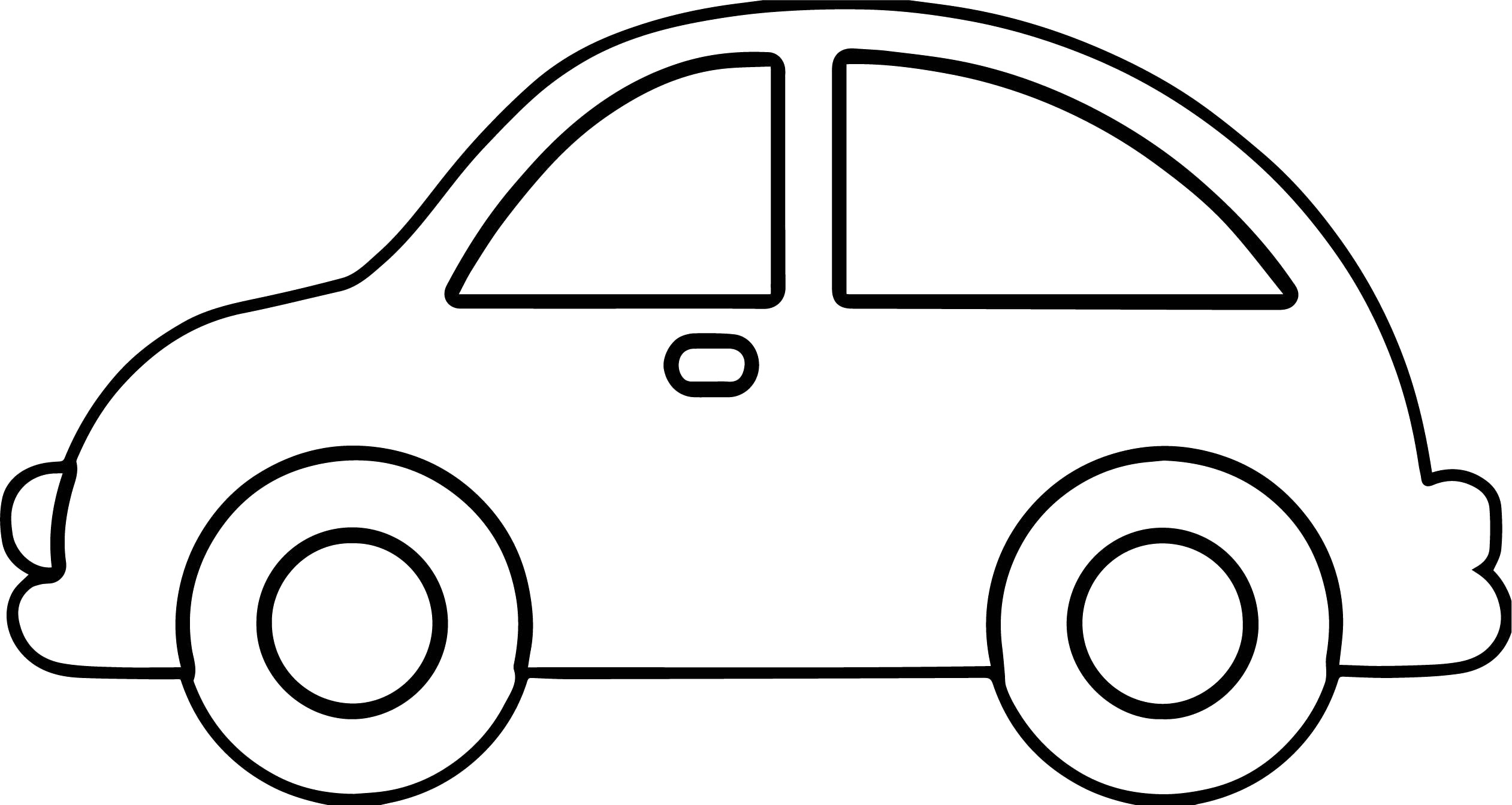 Car Outline Clipart 3 Clipart Station