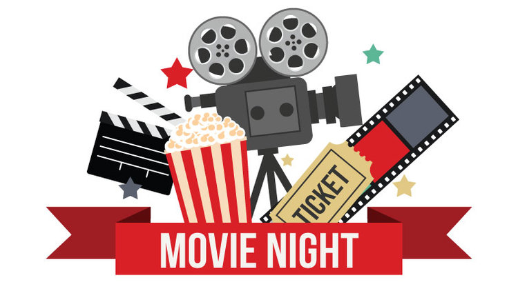 Family movie night clipart 3 Clipart Station