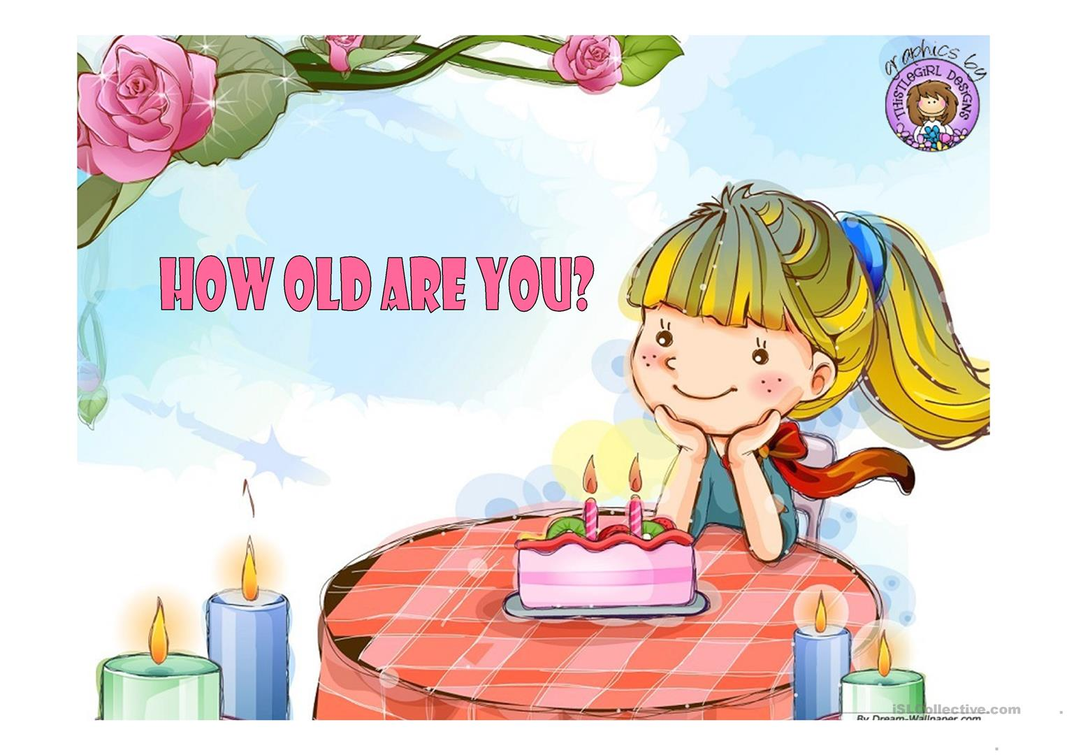 How Old Are You Clipart 5 Clipart Station