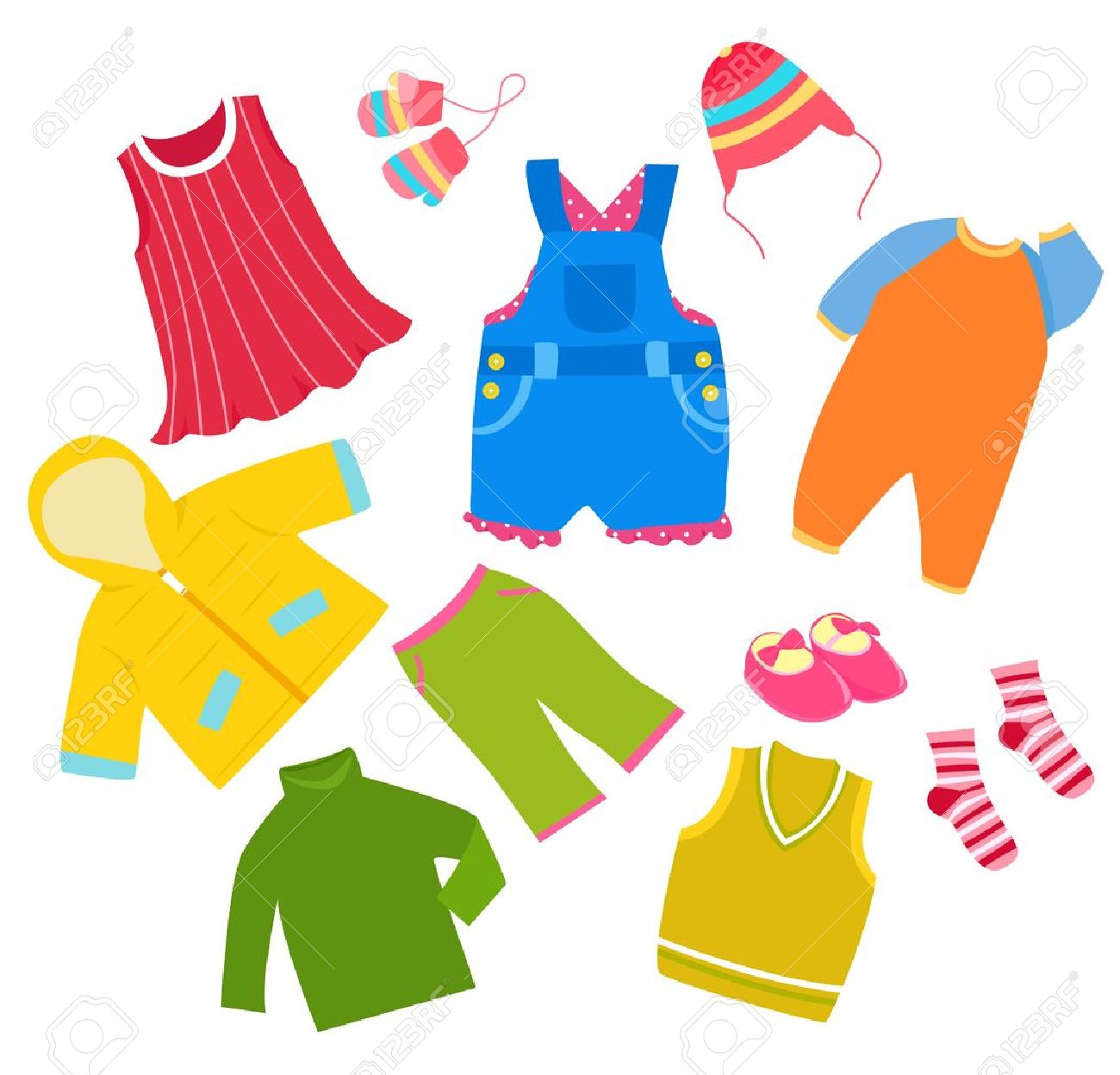 Kids Clothes Clipart 7 Clipart Station