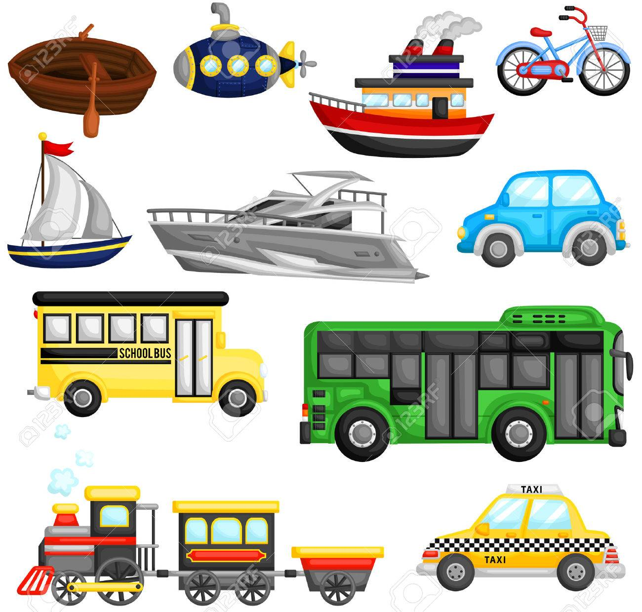 Land Transport Clipart 4 Clipart Station