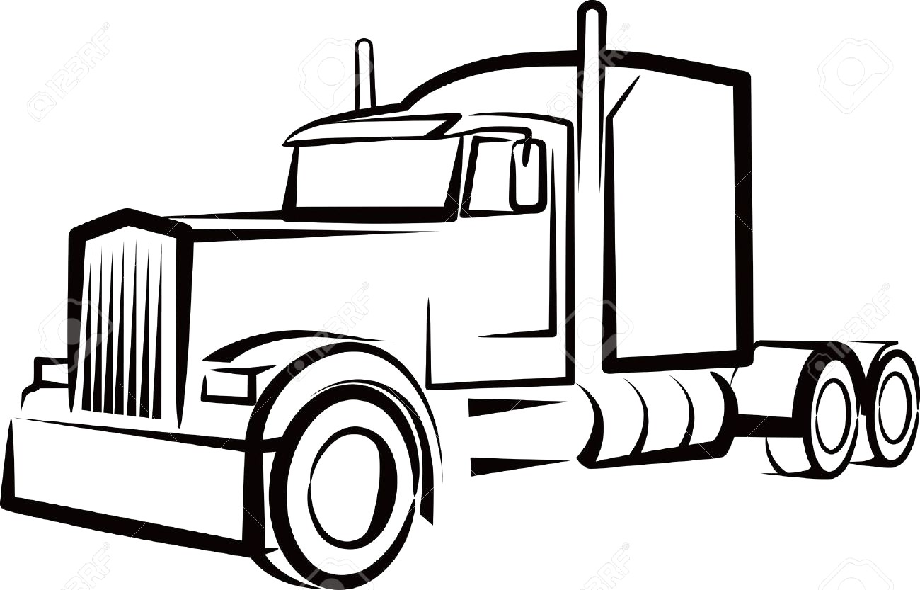 Semi Truck Clipart Free 1 Clipart Station