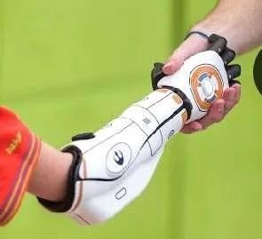 Open Bionics Shaking Hands