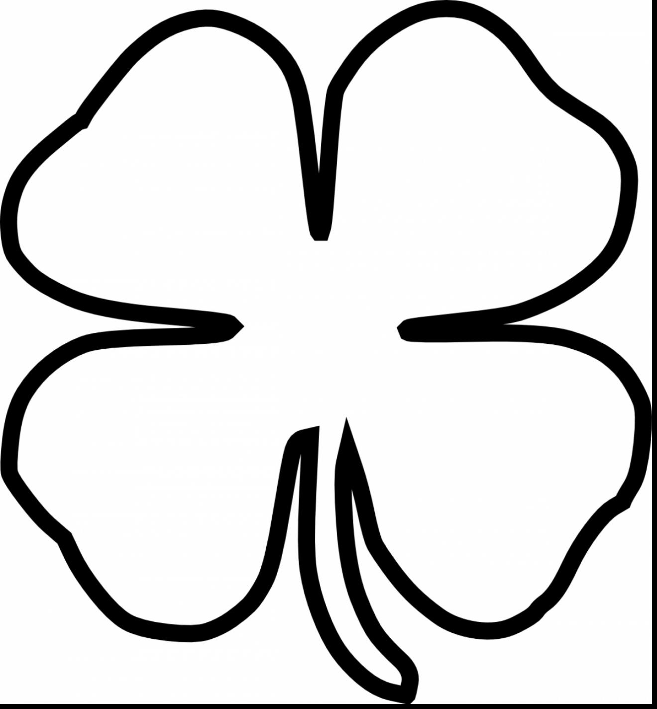4 Leaf Clover Clipart 20 Free Cliparts