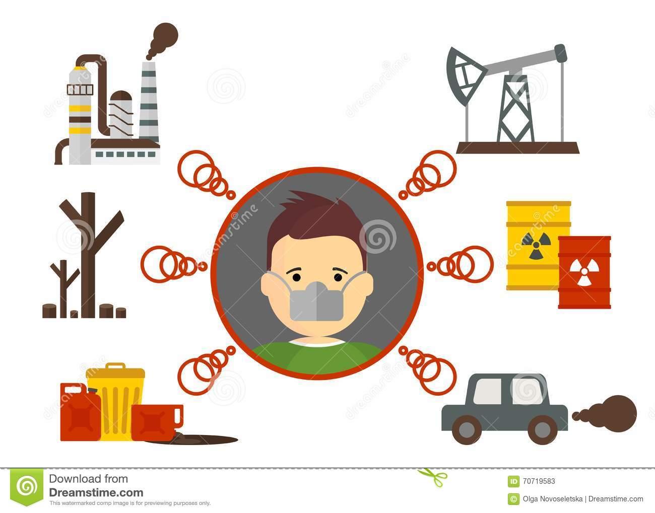 Air Pollution Clipart