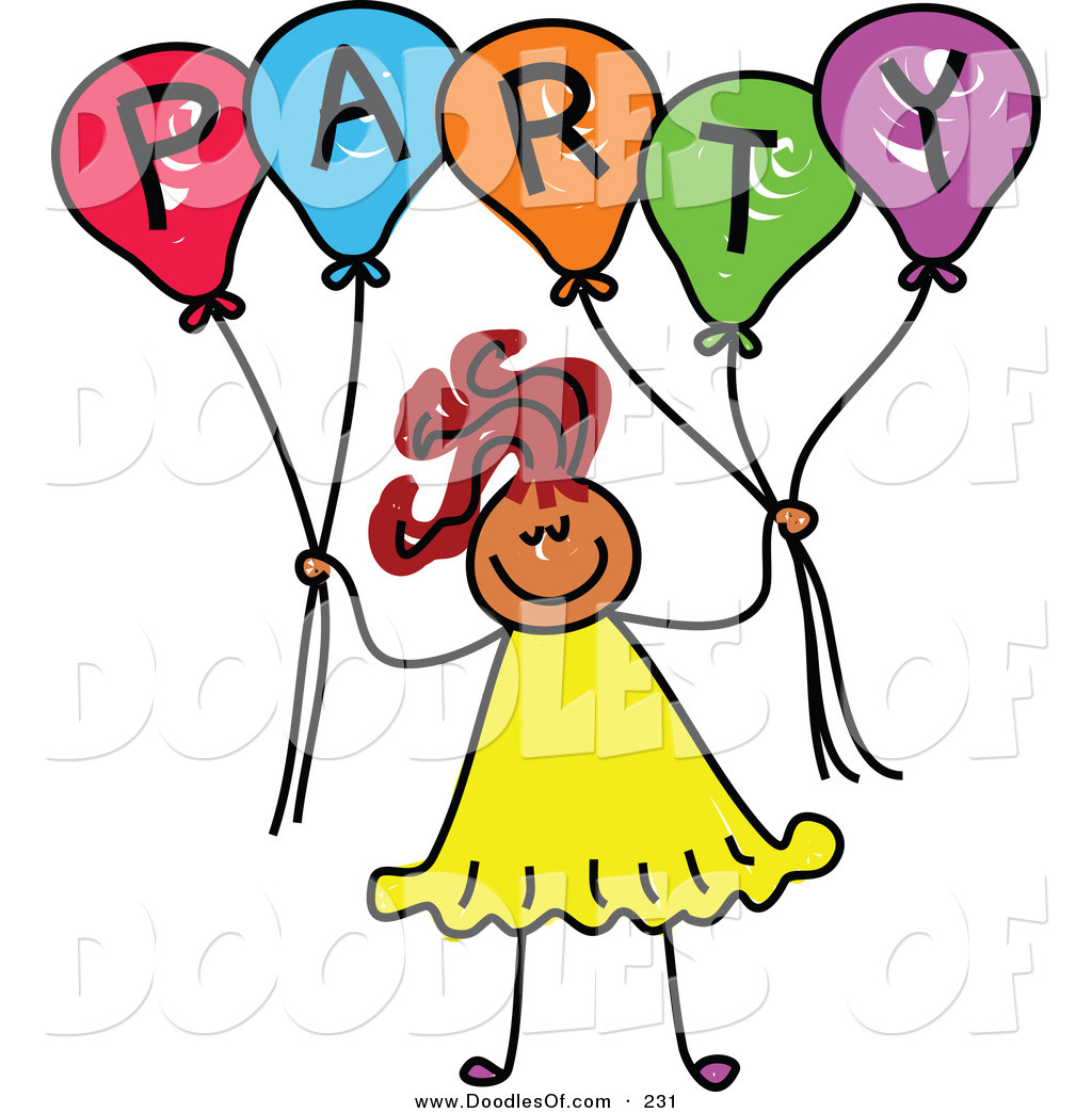 Lunch Party Clipart