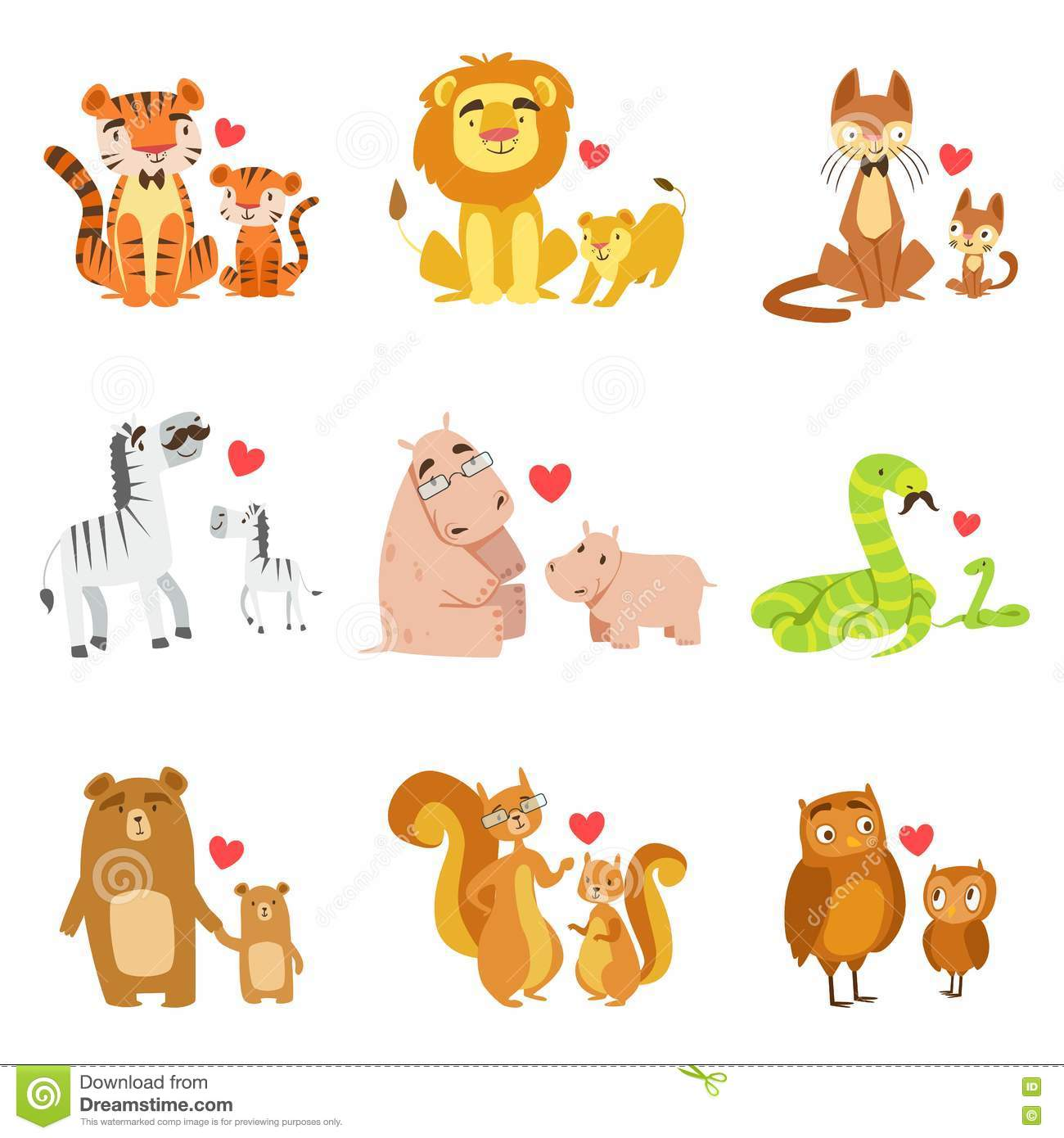 Animal Pairs Clipart 20 Free Cliparts