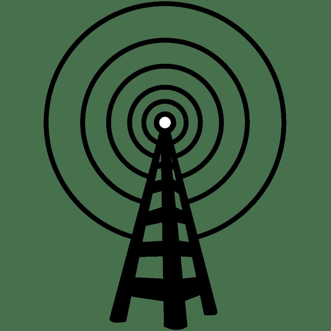 Radio Mast Clipart