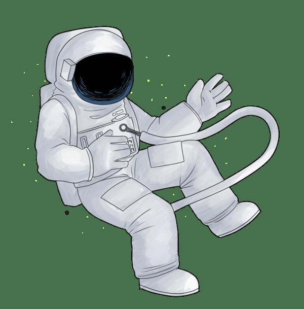 Astronaut clipart - Clipground