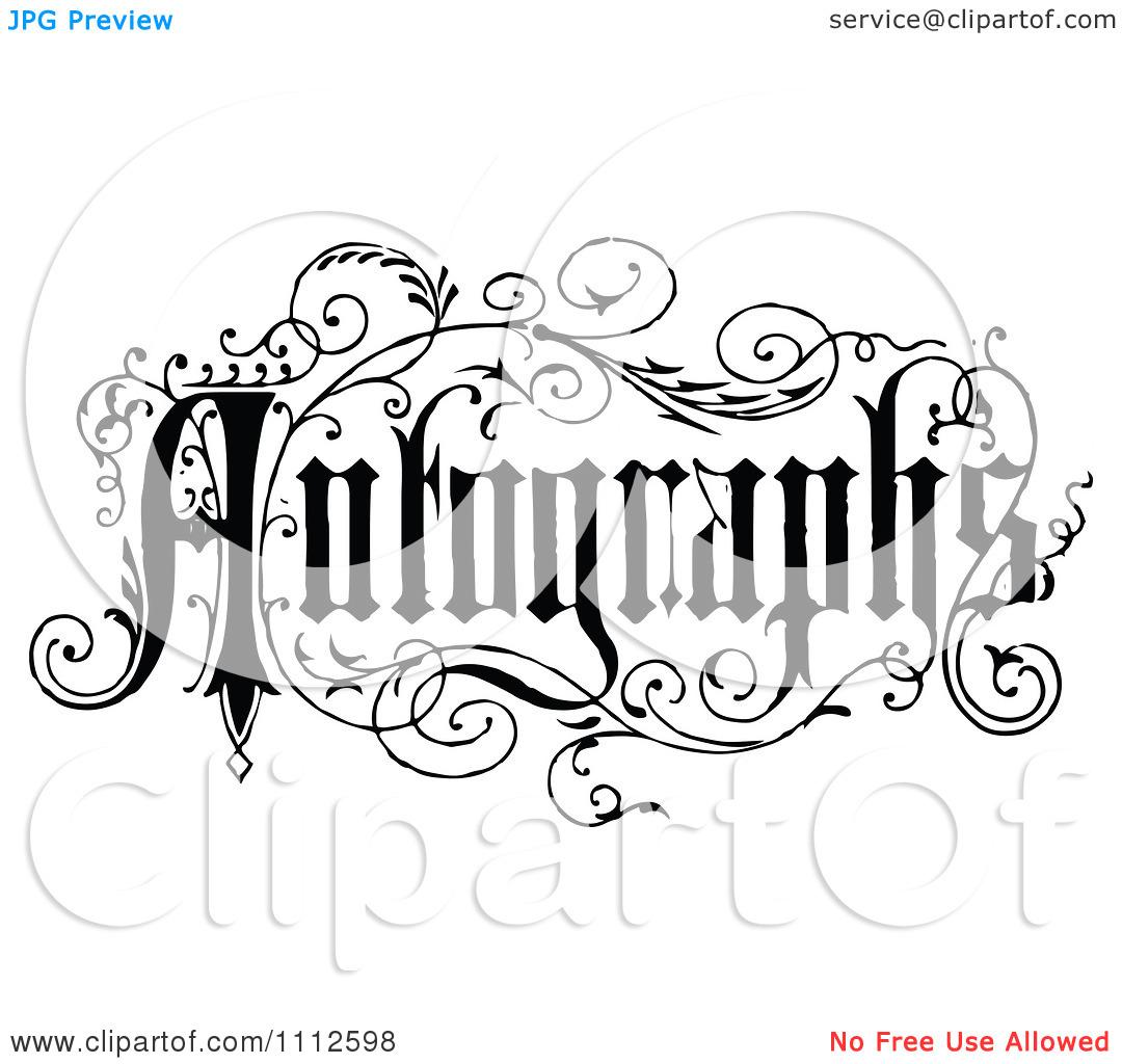 Autograph Clipart 20 Free Cliparts