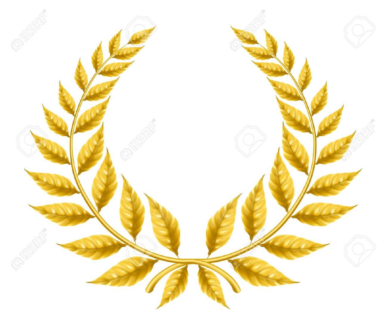 Award Wreath Clipart Yellow Clipground