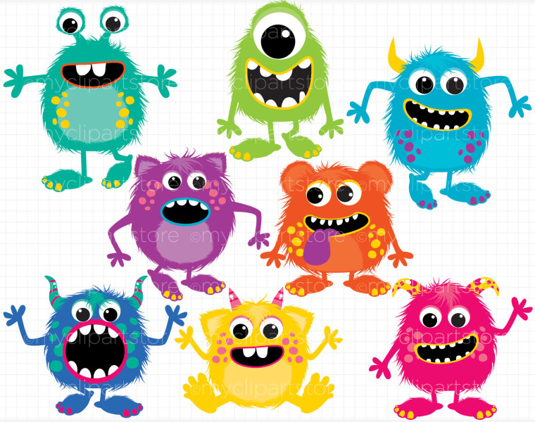 Shower Baby Monsters Border Inc