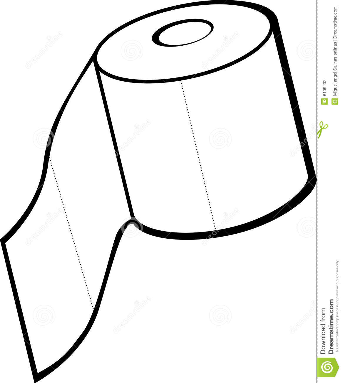 Toilet Roll Clipart