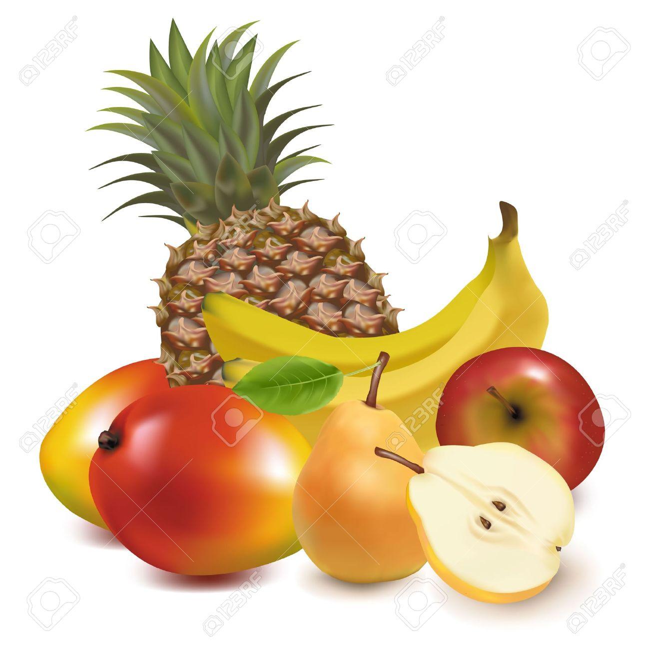 Clip Art Pineapple Bush