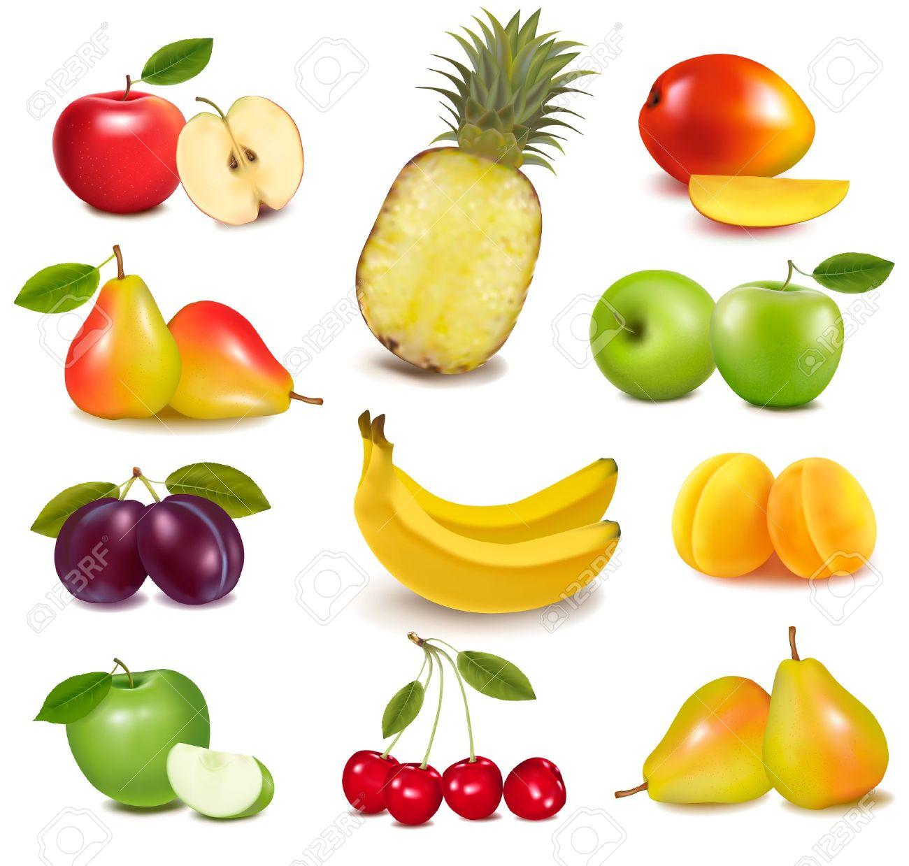 Big Fruit Clipart