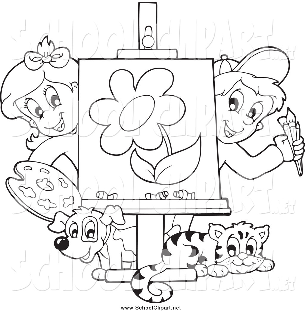Black And White Clipart Class 20 Free Cliparts