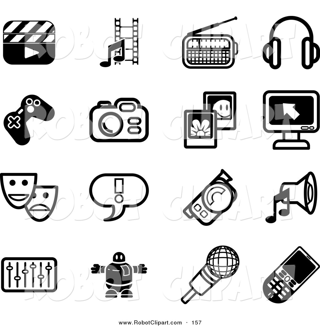 Movie Industry Clipart 20 Free Cliparts