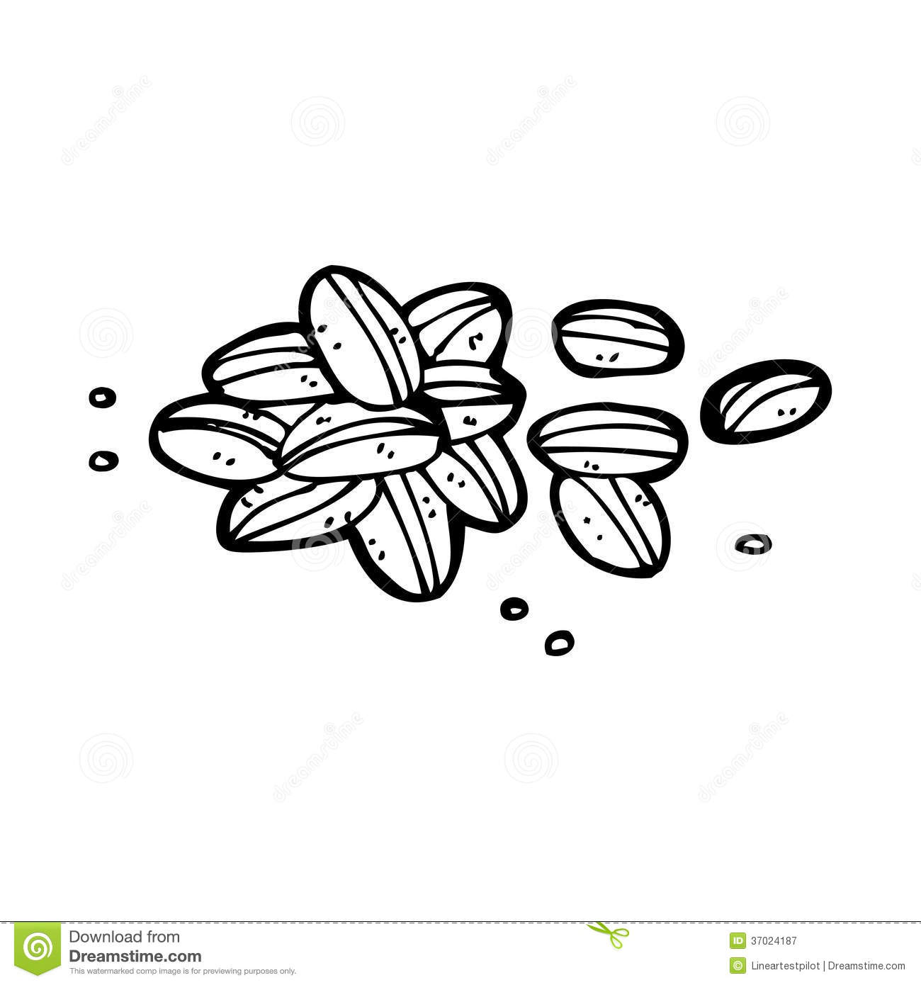 Seeds Clipart Black And White 20 Free Cliparts