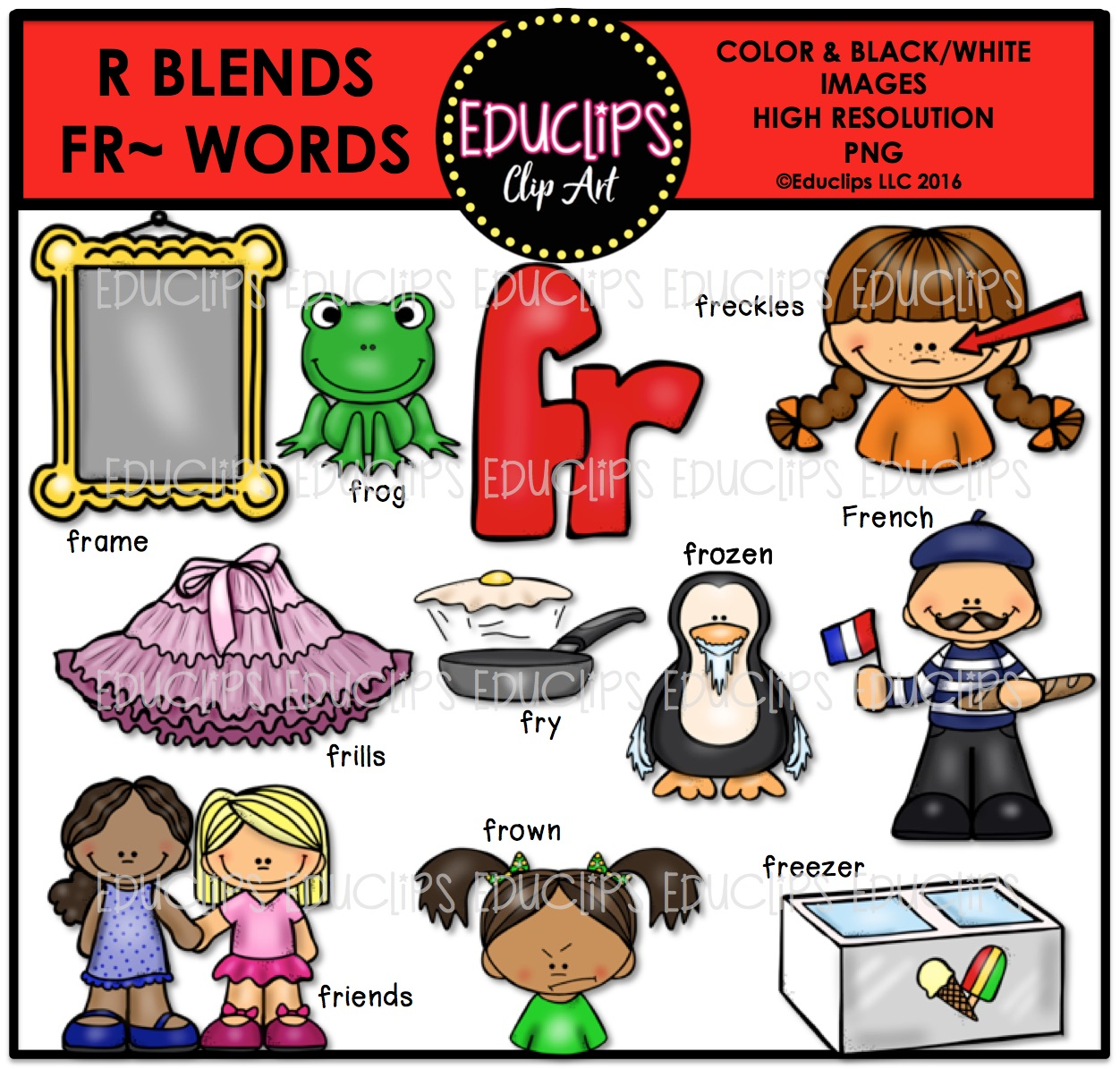 Blends Clipart
