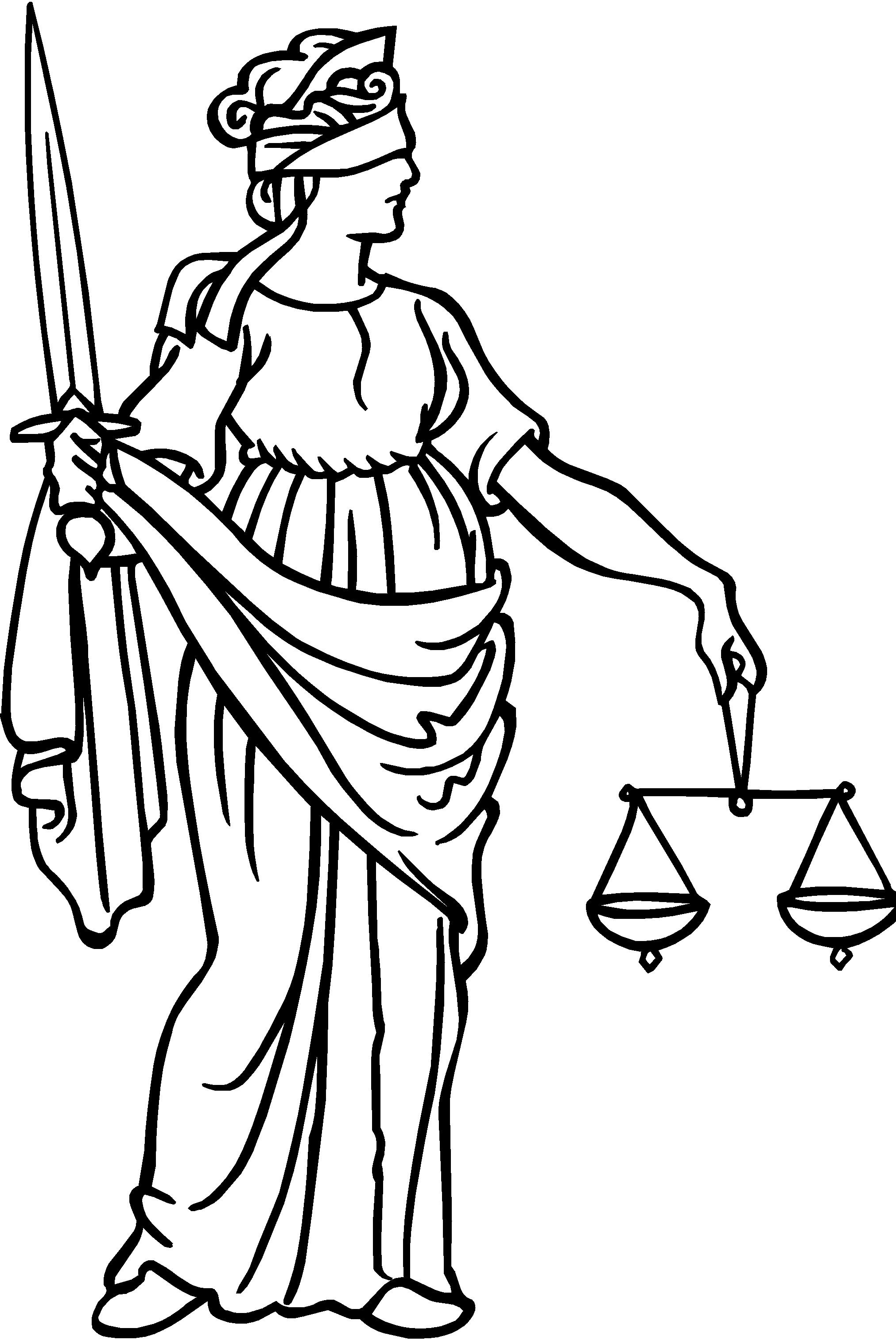 Blind Justice Clipart