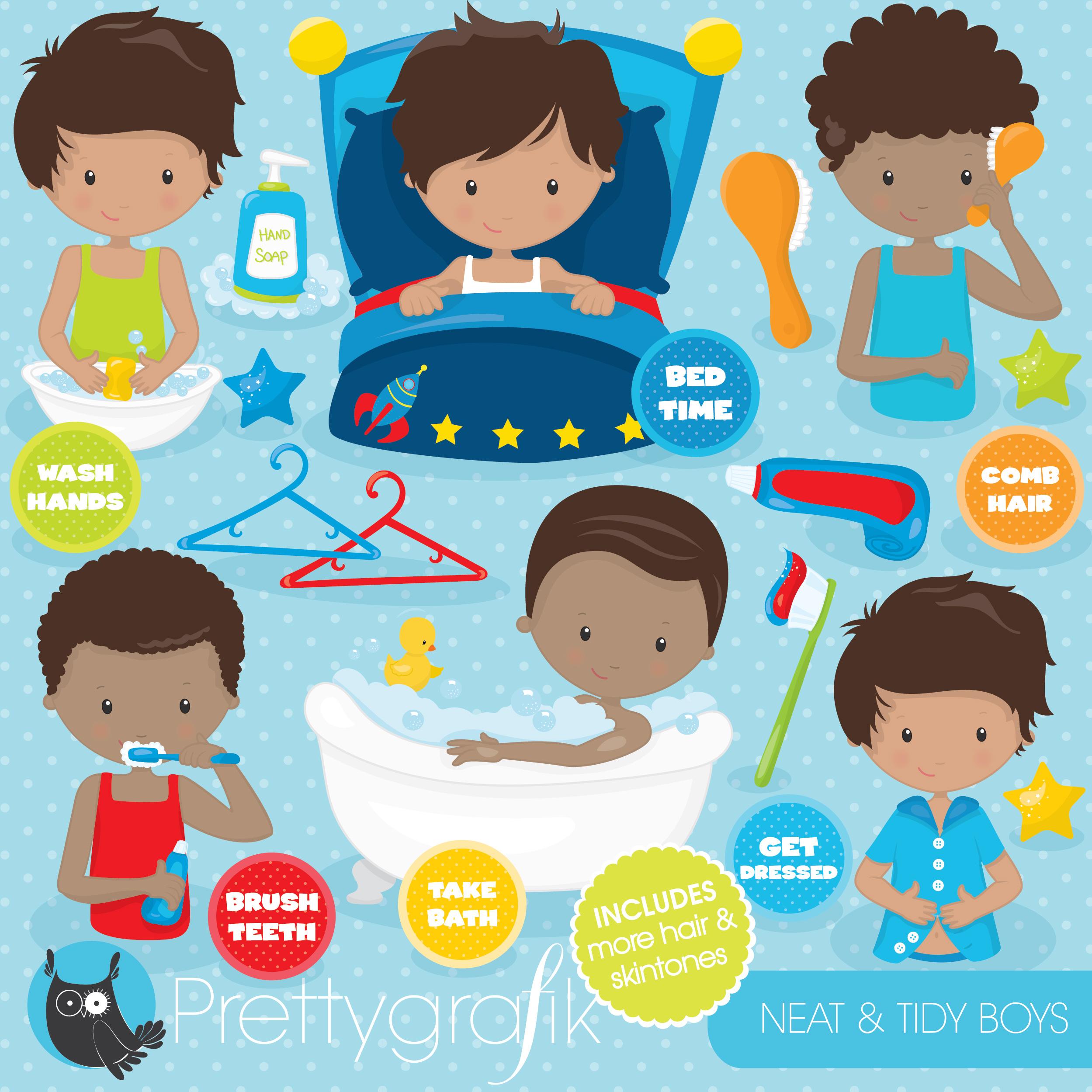 Body Hygiene Clipart 20 Free Cliparts