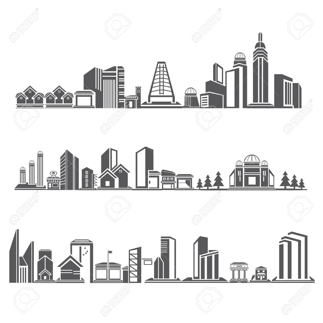 Borough Clipart