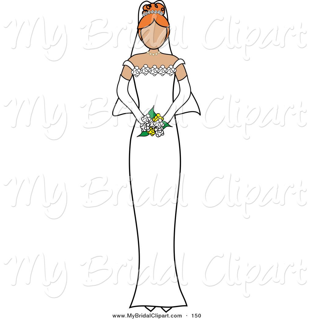 Bride Duck Clipart