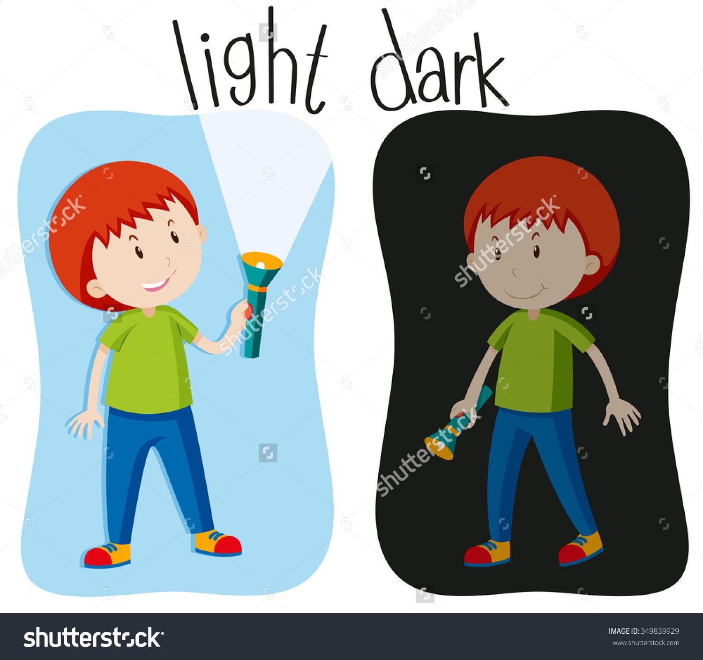 Light Dark Clipart