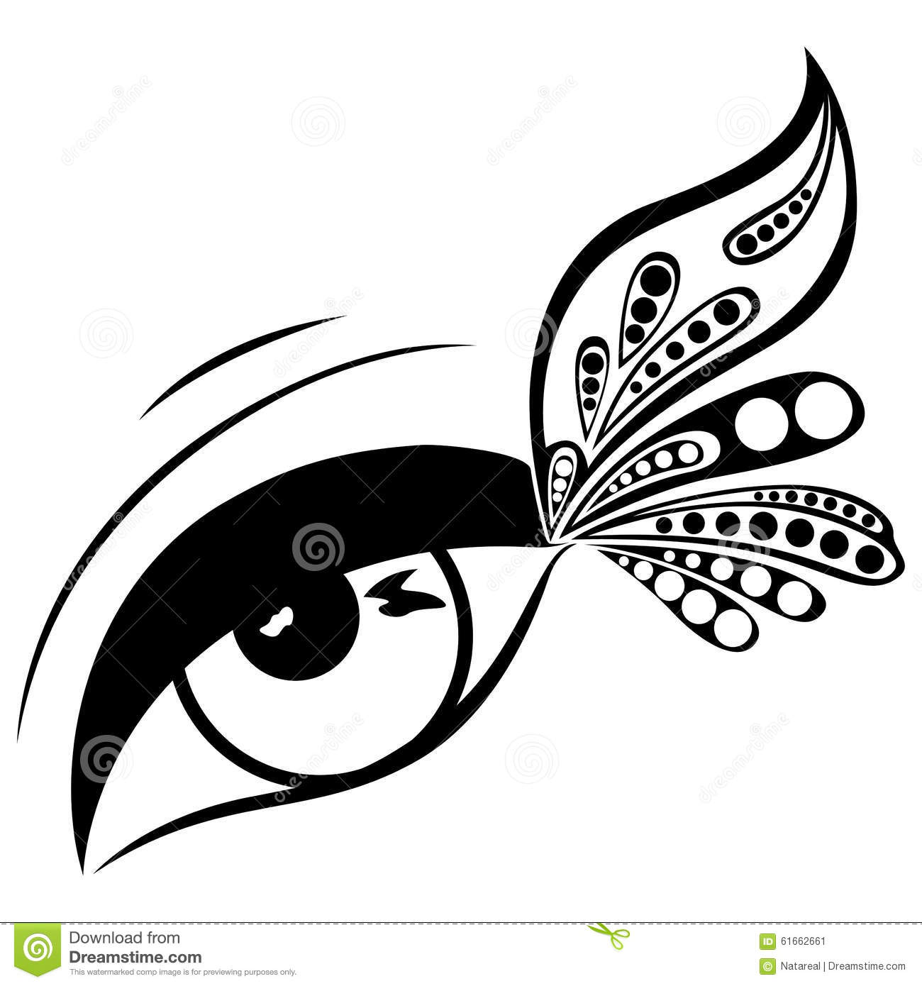 Butterfly Eyes Clipart Black And White 20 Free Cliparts