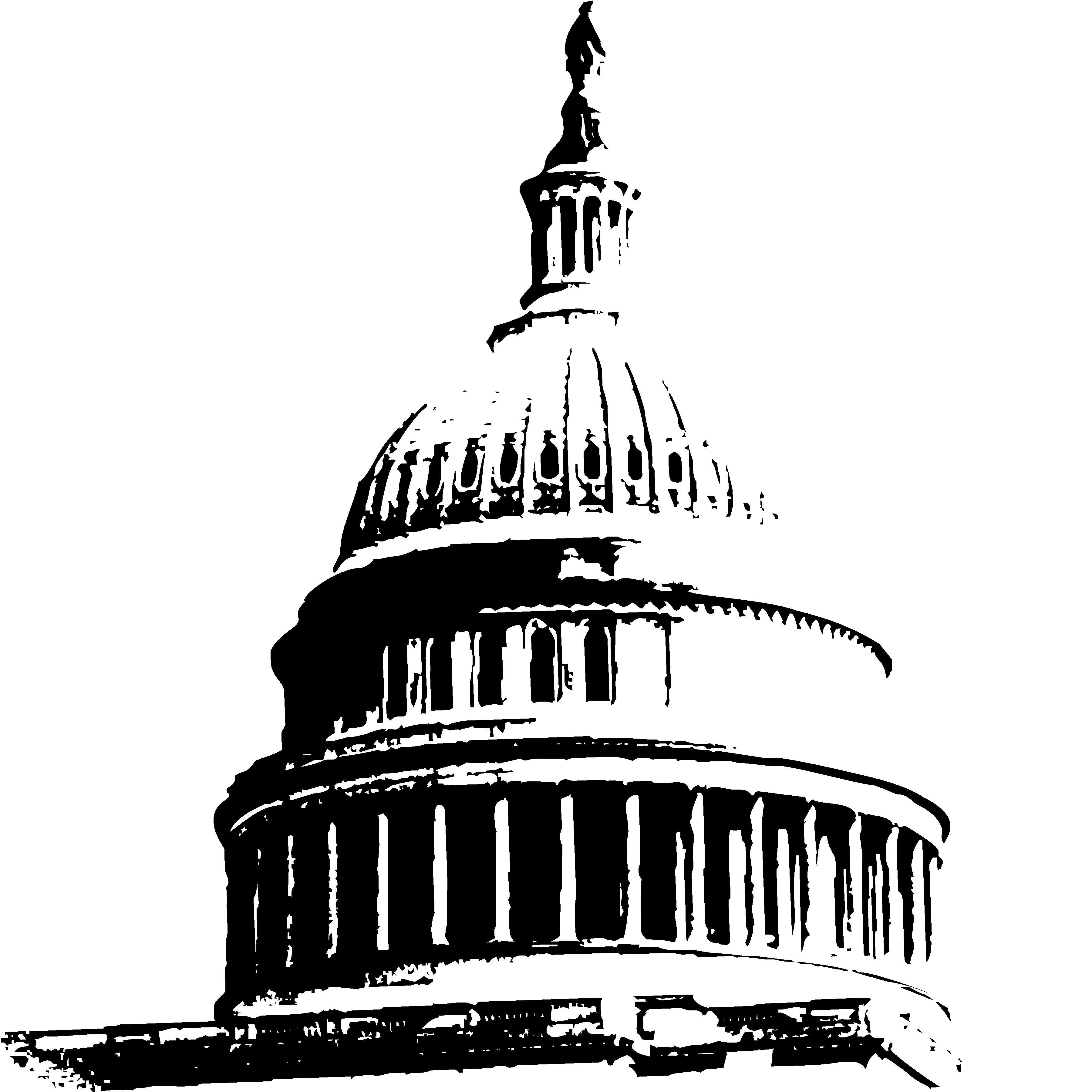 Black Domes Clipart