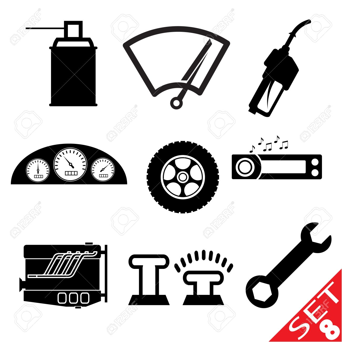 Car Accessories Clipart 20 Free Cliparts