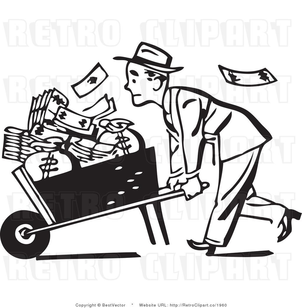 Car Business Money Clipart