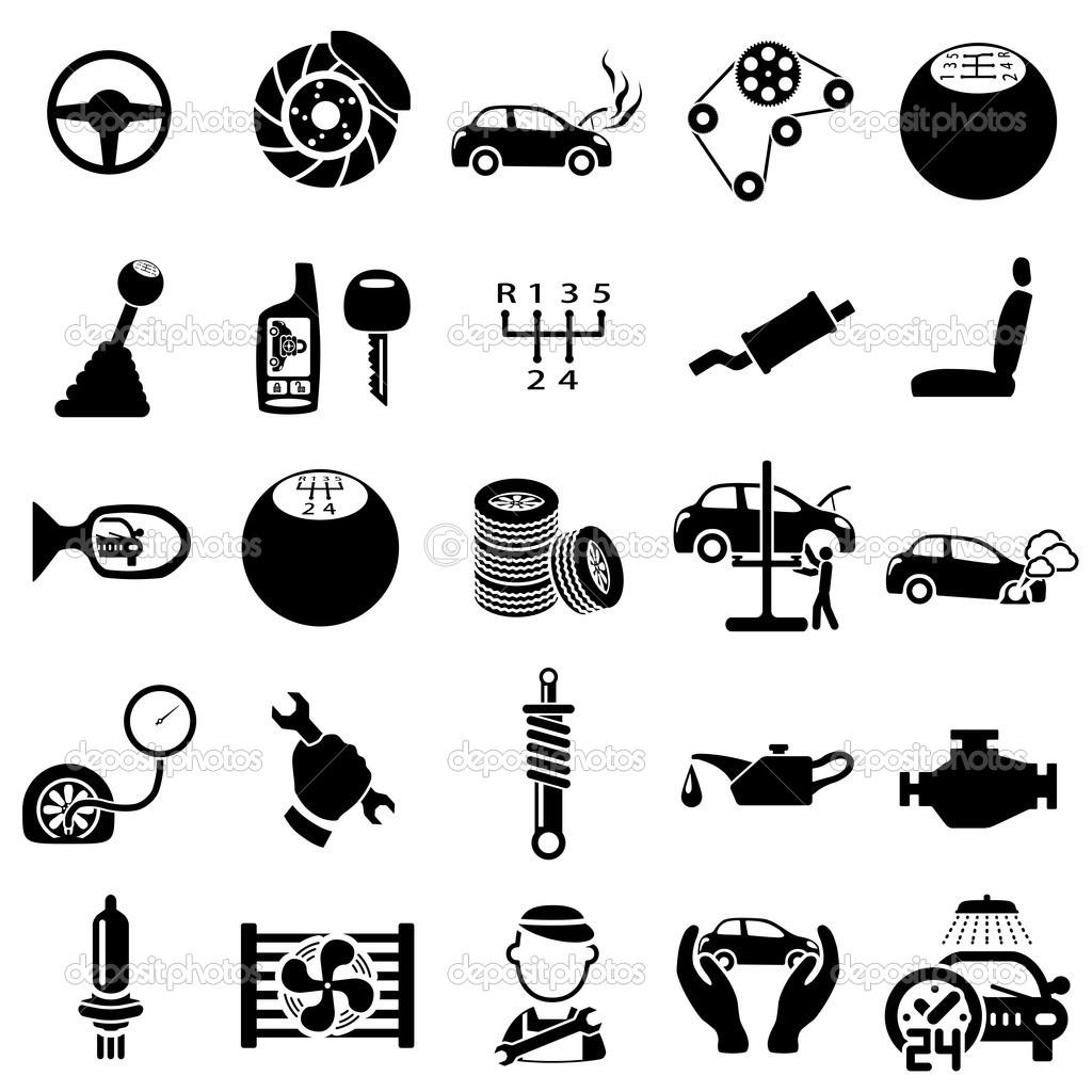 Car Parts Clipart