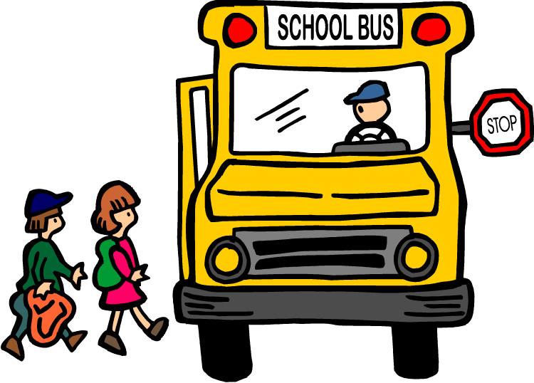 Going School Bus Clip Art