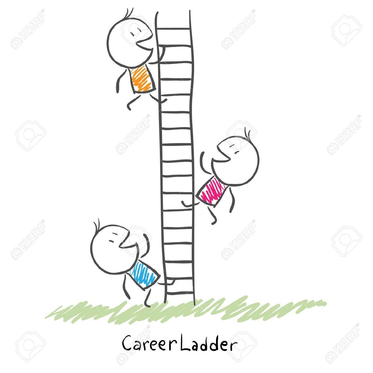 Career Ladder Clipart