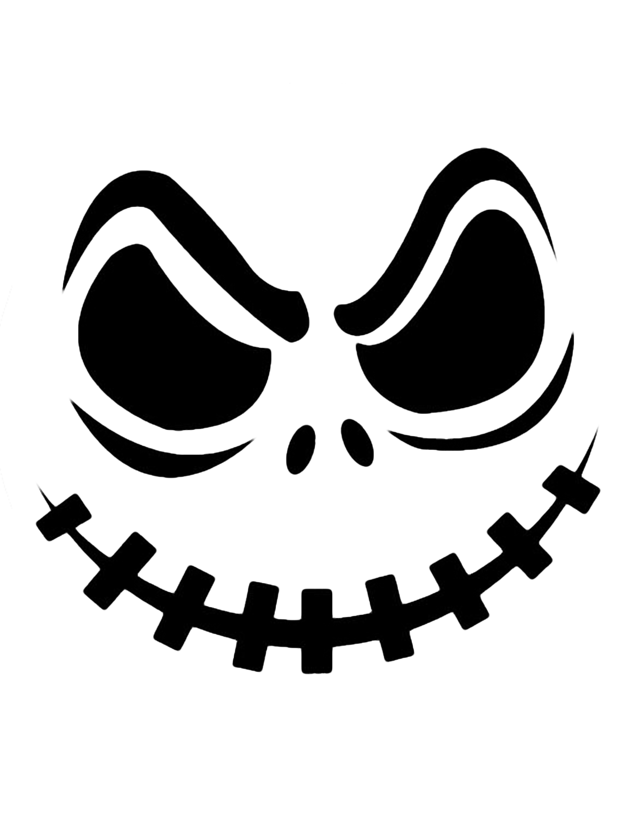 Happy Halloween Pumpkin Clipart Black And White Free