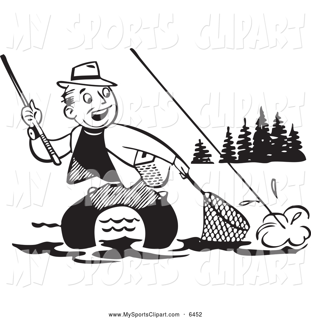 Catching Fish Clipart