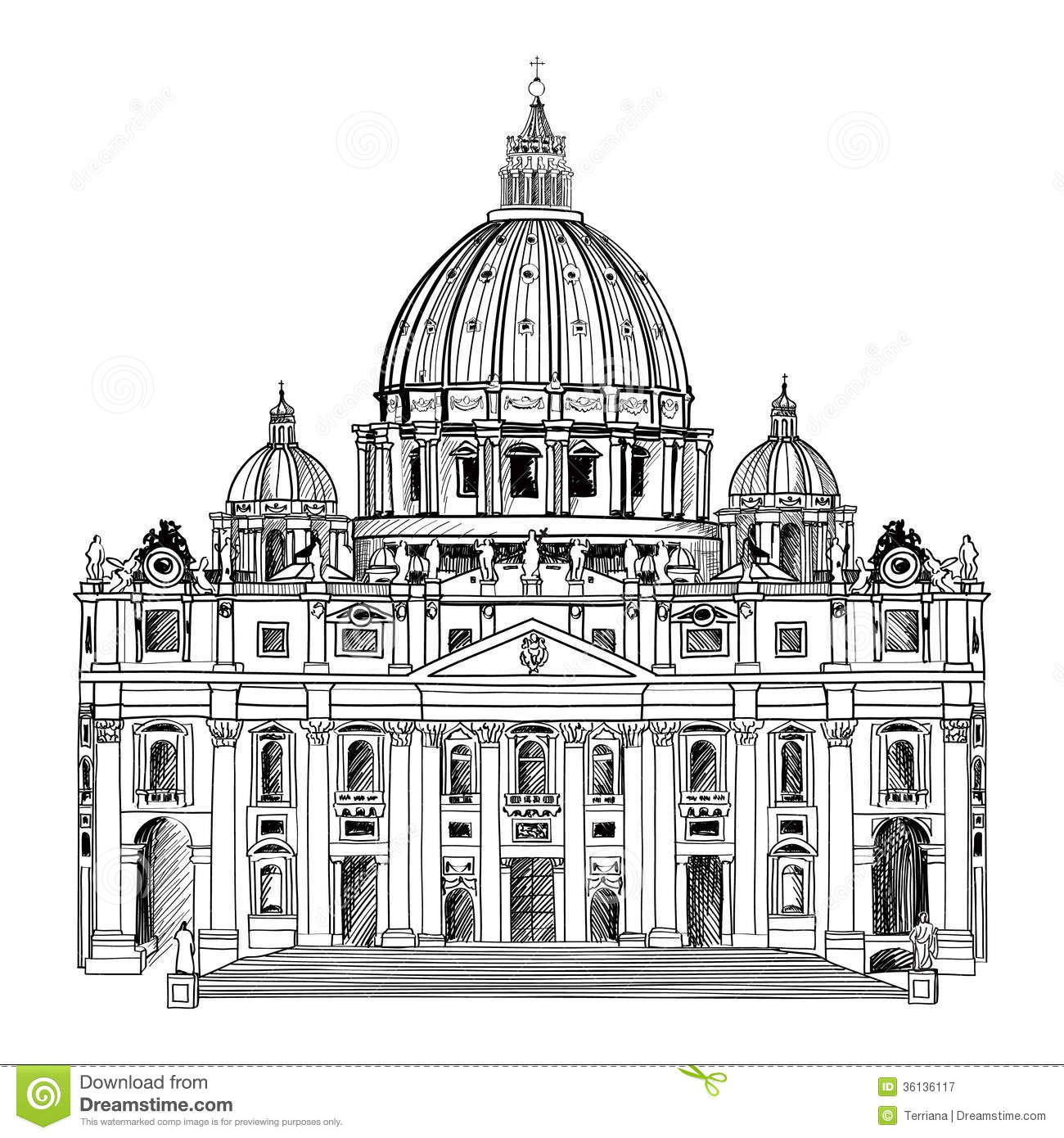 Saint Peter S Cathedral Clipart 20 Free Cliparts