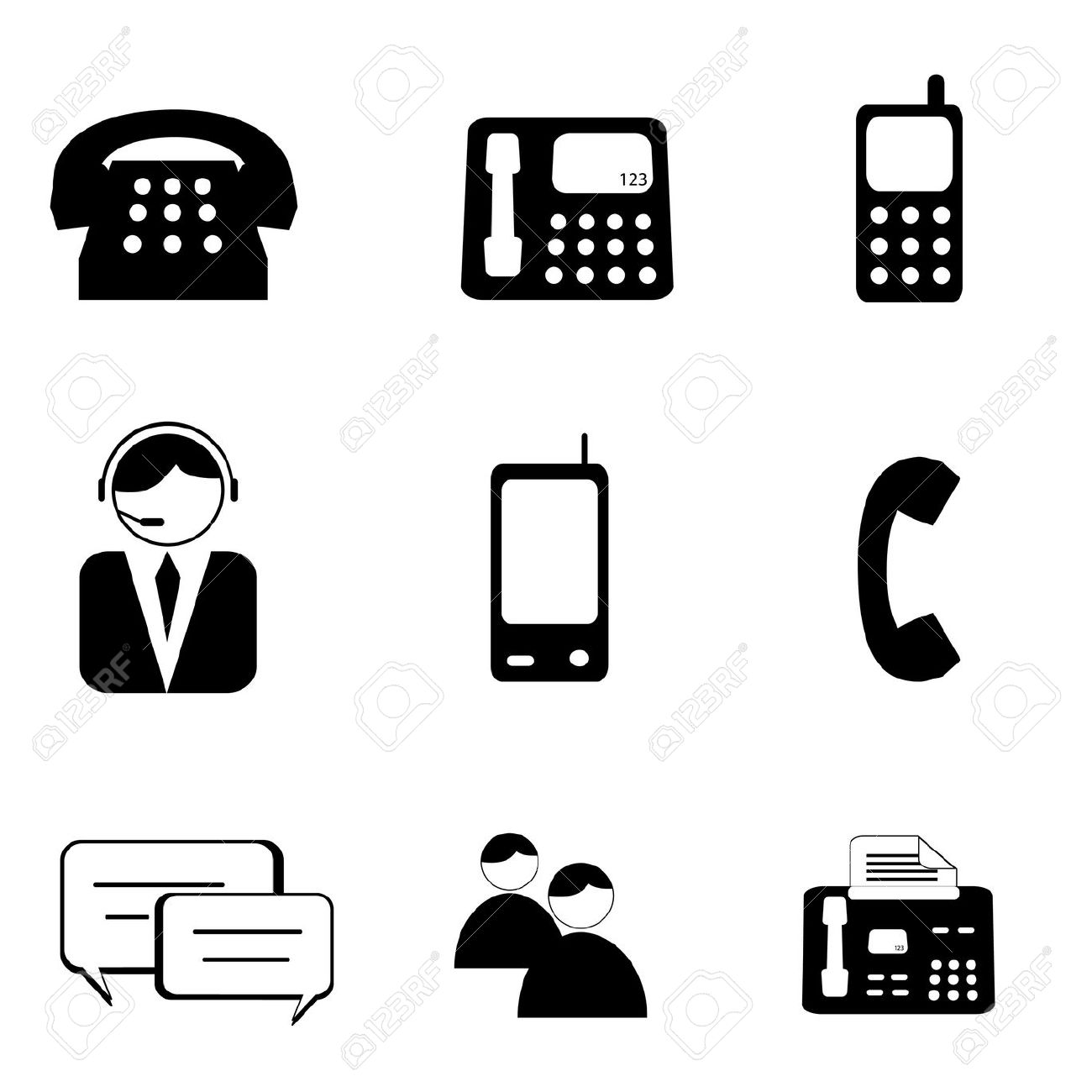 Cell Phone Tax Clipart